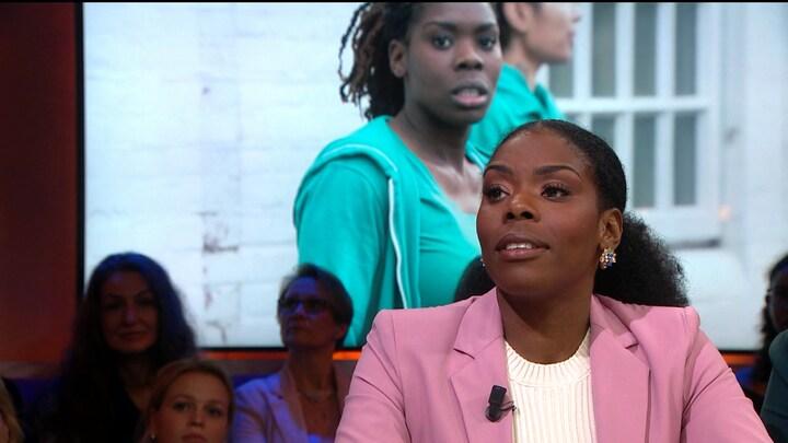Actrice Imanuelle Grives diep door het stof over veroordeling