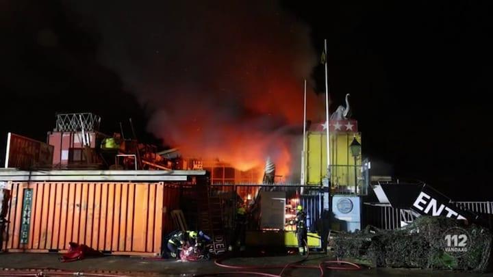 4e keer brand bij bouwbedrijf in Beverwijk