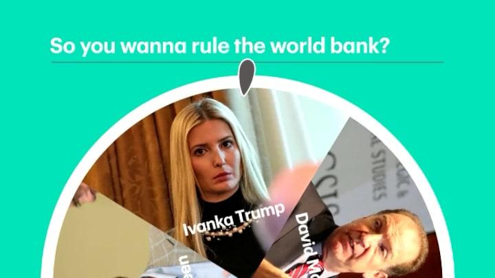 Dit zijn de kandidaten voor de Wereldbank