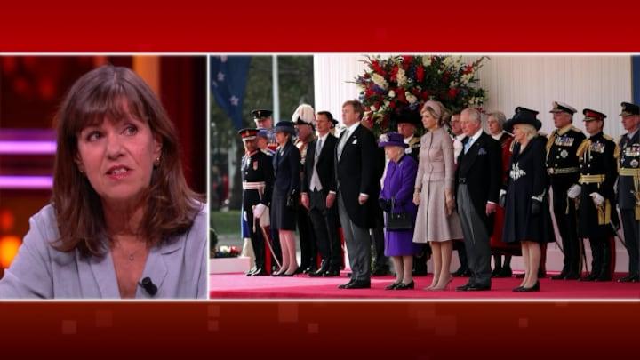 Queen Elizabeth gastvrouw Nederlands koningspaar