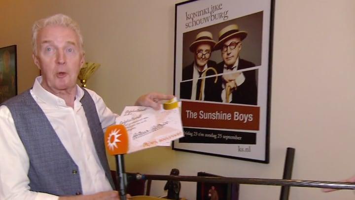 André van Duin wil Televizier-Ster opdragen aan overleden man