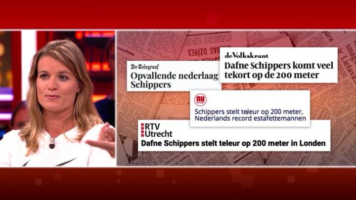 Dafne Schippers over haar seizoen: 'Ik heb veel geleerd van mijn ups en downs'