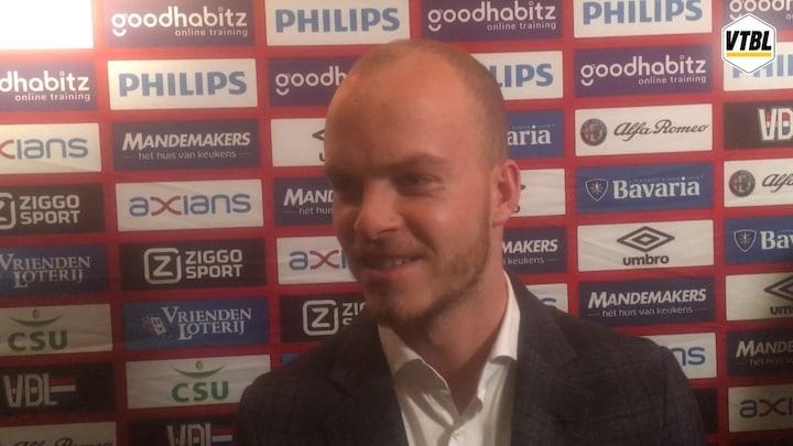 Winnen tegen Ajax is hét voetbalmoment van Hendrix: 'Zo moest het zijn, het kon niet anders'