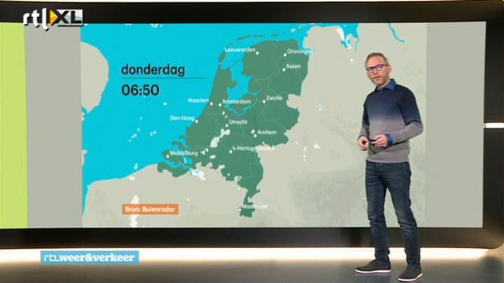 RTL Weer donderdag 27 november 2014 07:00 uur