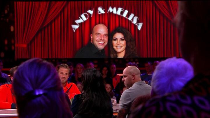 De meest gênante vraag die Andy en Melisa kregen