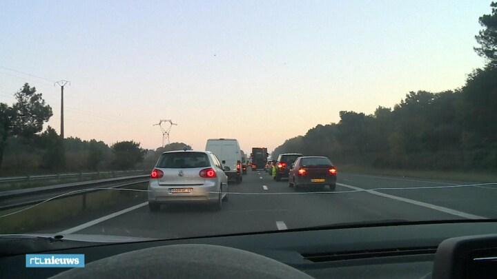 Franse wegblokkades vanwege woede over brandstofprijzen
