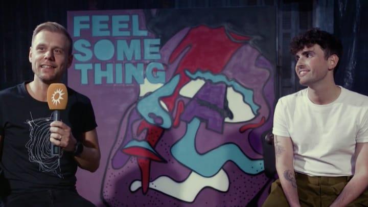 Armin van Buuren en Duncan Laurence over hun samenwerking