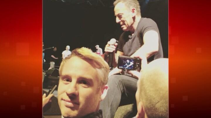 Art Rooijakkers naar Broadwayshow van zijn grote held Bruce Springsteen