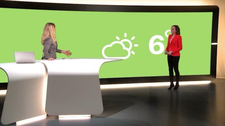 RTL Weer 08:30 12 februari 2016 08:30